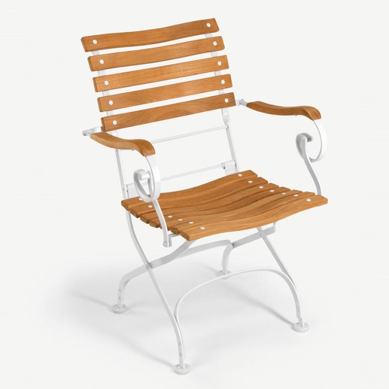 Classic Sessel, Belattung geschwungen