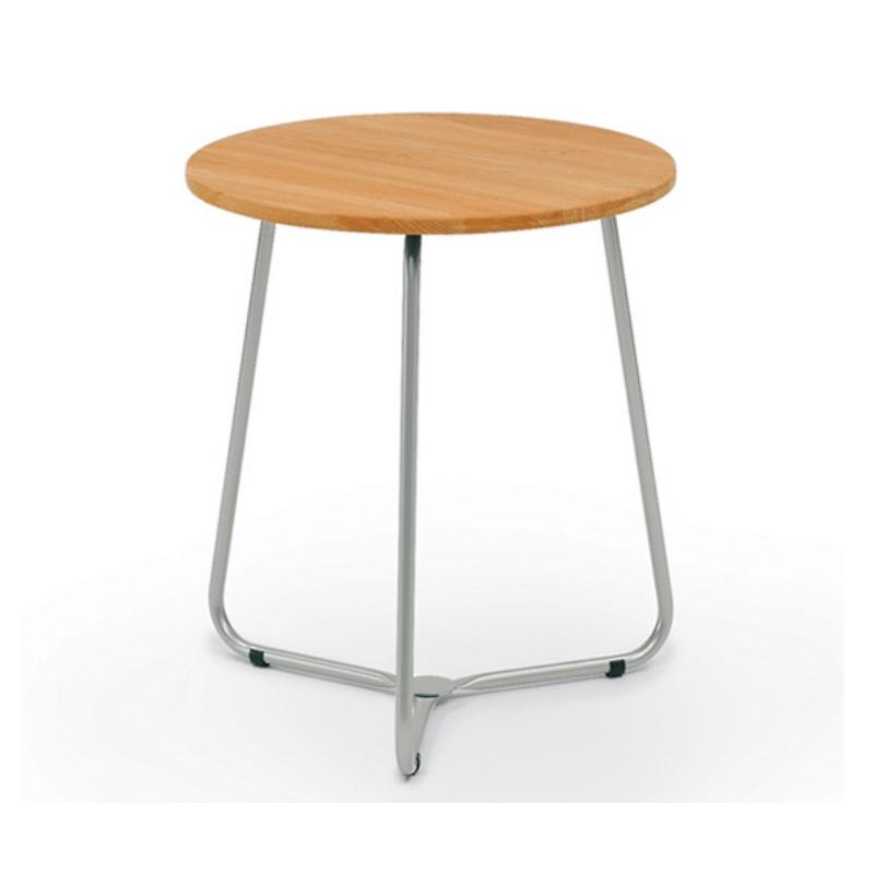 Balcony Bistro-Tisch, Ø 65 cm, Tischplatte aus Teak