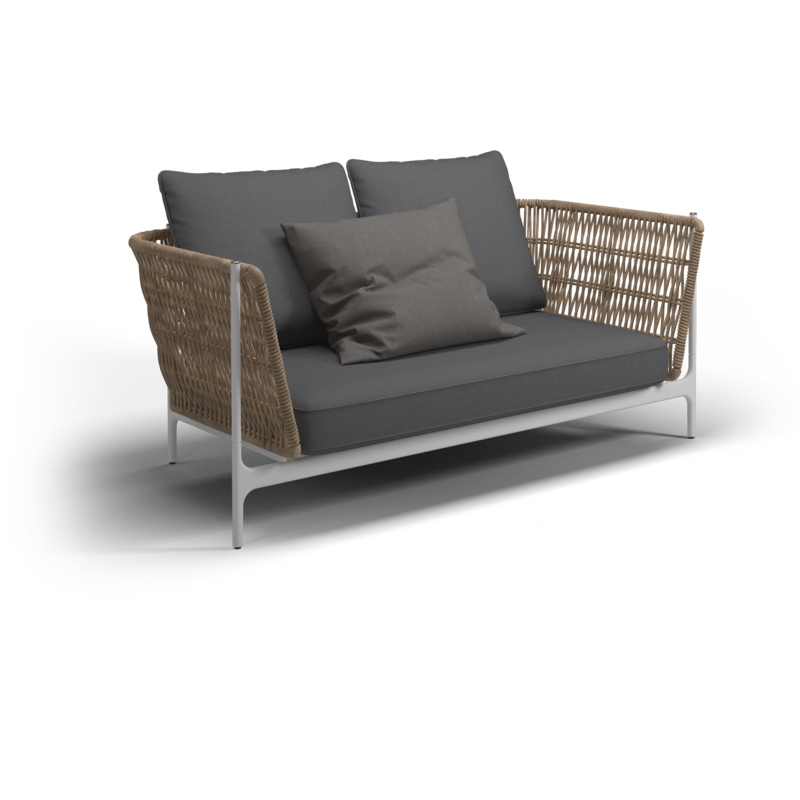 Grand Weave Lounge 2-Sitzer Sofa