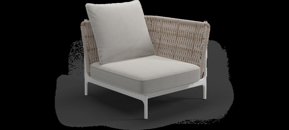 Grand Weave Lounge Eckmodul Klein