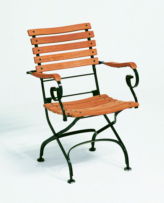 Classic Sessel, Belattung gerade