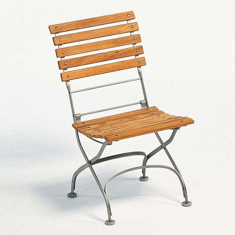 Classic Stuhl, Belattung gerade