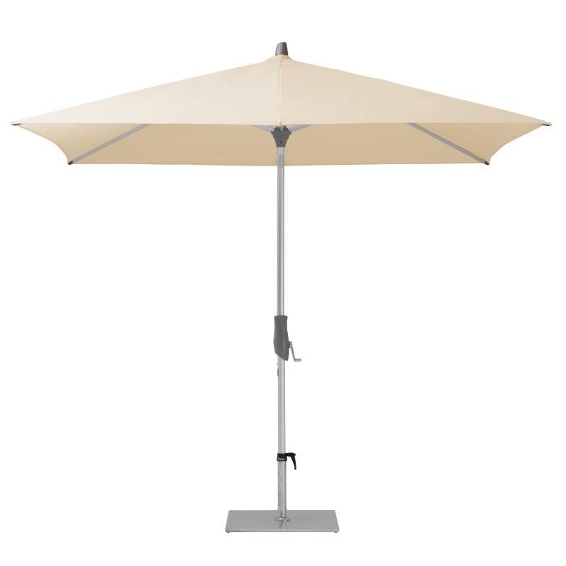 Alu-Twist Sonnenschirm, rechteckig, 250 x 200 cm, easy