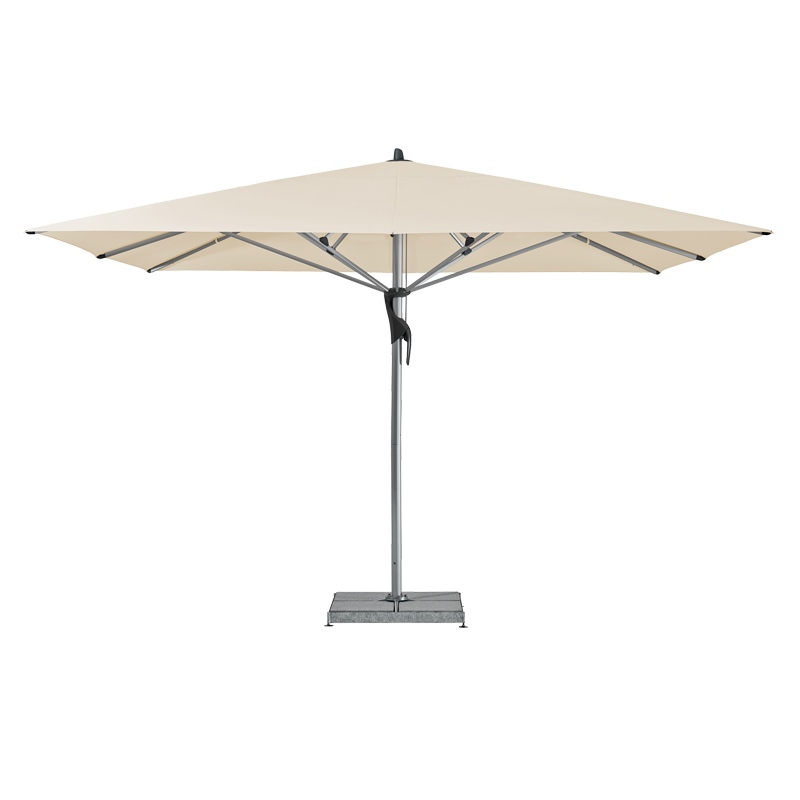 Fortello / LED Sonnenschirm, quadratisch, 300 x 300 cm easy