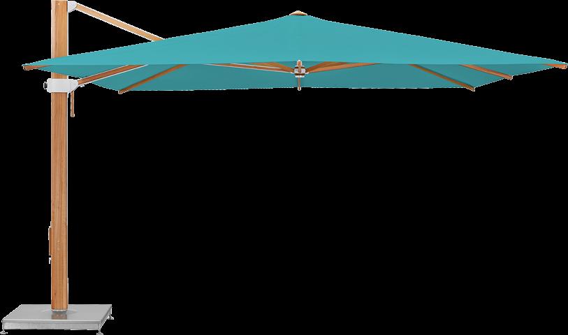 Aura Sonnenschirm rechteckig 400 x 400 cm