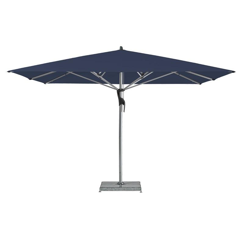 Fortello / LED Sonnenschirm, rechteckig, 400 x 300 cm