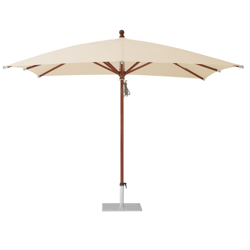 Piazzino Sonnenschirm, quadratisch, 300 x 300 cm, easy