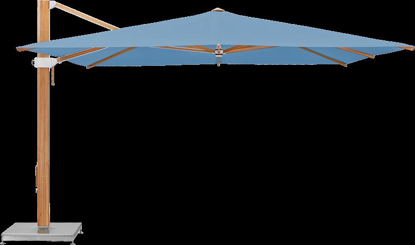 Aura Sonnenschirm rechteckig 350 x 350 cm