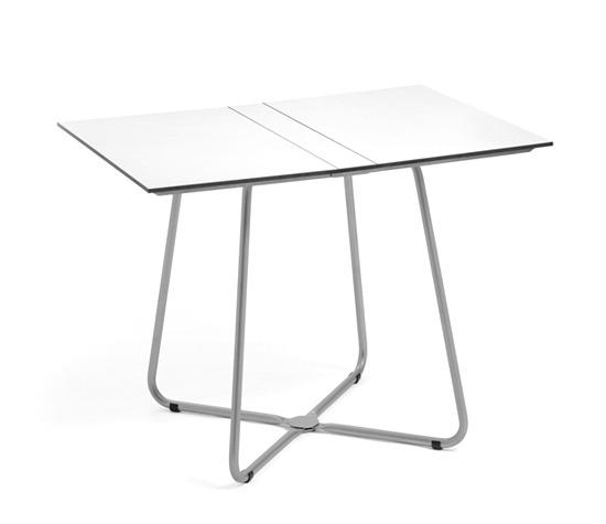 Balcony Klapp-Tisch, 70 x 100 cm Tischplatte aus HPL