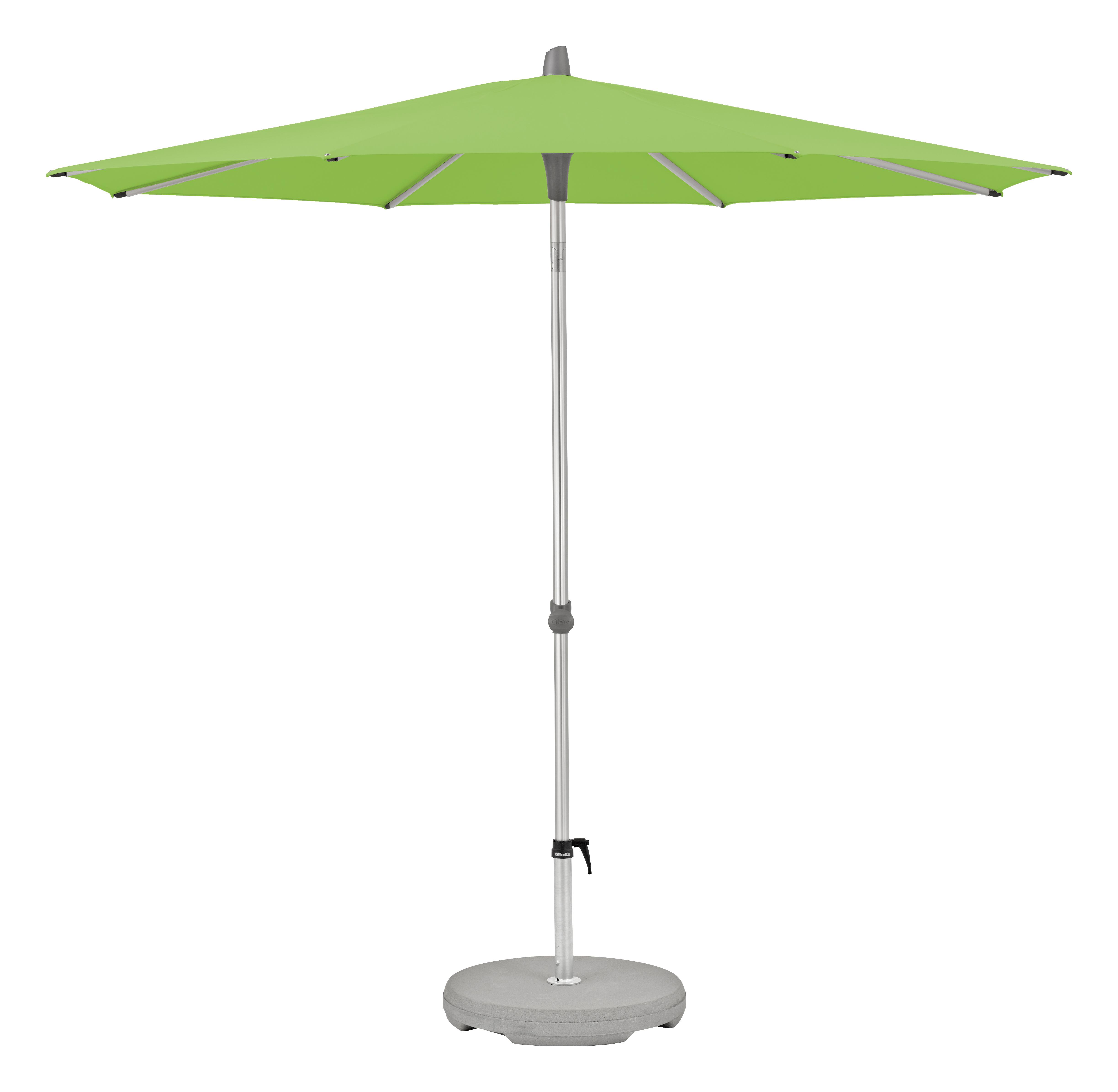 Alu-Twist Sonnenschirm, rund, Ø 270 cm, easy