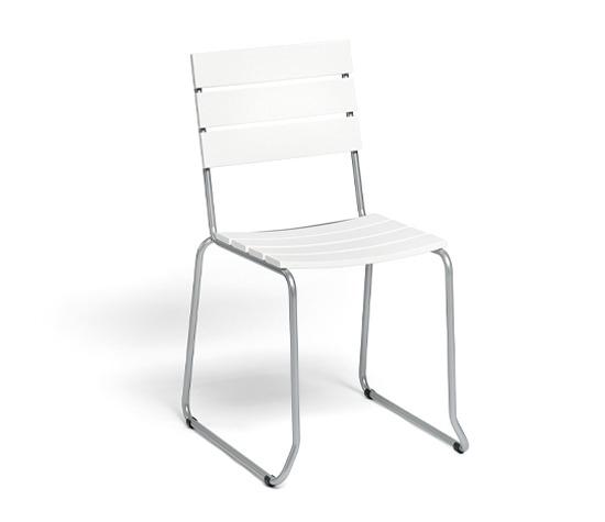 Balcony Stuhl mit Kunststoff Belattung