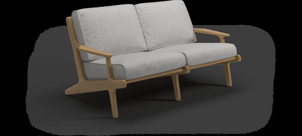Bay Lounge Sofa 2-Sitzer